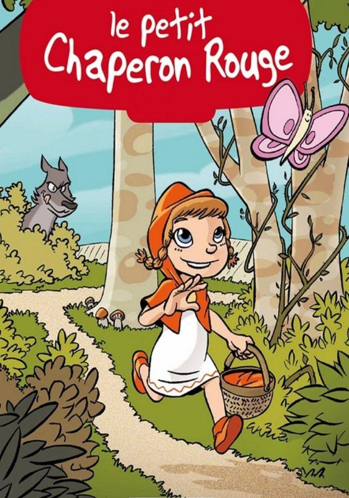 Le petit chaperon rouge - Dyslexique