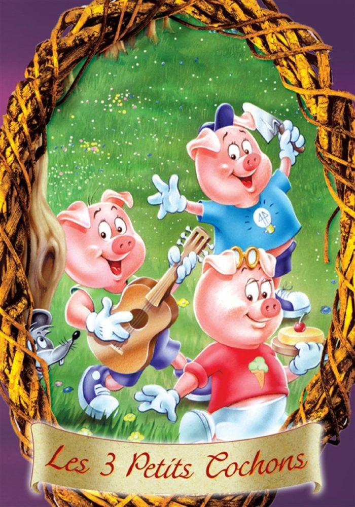 Les trois petits cochons - Dyslexique